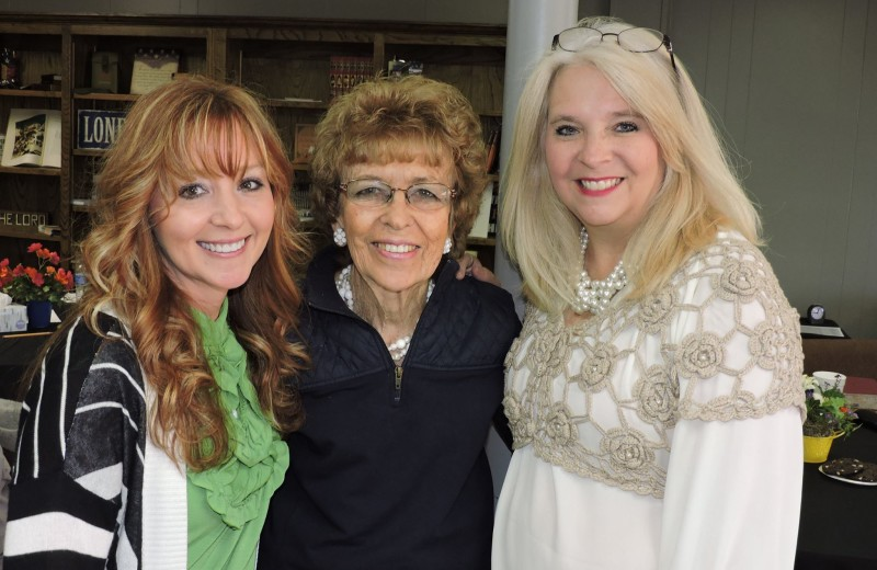 Pat Self & Cindy Haning pictured with Shelly